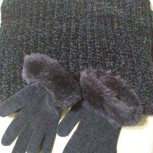 Κασκόλ και γάντια