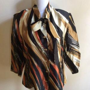 vintage πουκάμισο σατέν