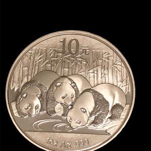 Panda 1 oz silver 2013