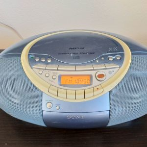Sony CFD-S35 CP Blue