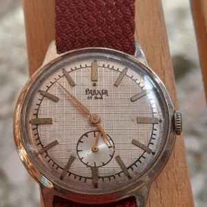 παλιό κουρδιστό ανδρικό ρολόι Parker