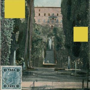 Συλλεκτική Καρτ Ποστάλ νο.1 του 1900 απο το καλλιτεχνικό φωτογραφείο Ιωάννη Ιωαννίδη. Ιταλικό Ταχυδρομείο Ιωαννίνων. Ταχυδρομημένη το 1907 με σφραγίδα φωτογράφου. Ιωάννινα Ioannina Janina Ήπειρος