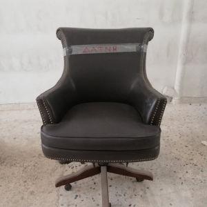 καρέκλα γραφείου δερμάτινη