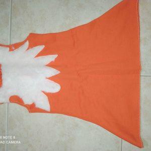 Στολή αλεπουδιτσα χειροποίητη 4-6