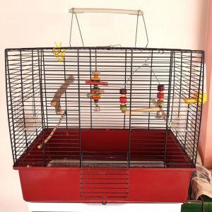 Μεταλλικό Κλουβί για μικρά πουλιά
