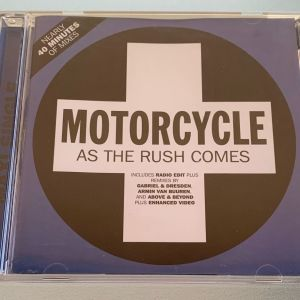 Motorcycle - As the rush comes 5-trk cd single