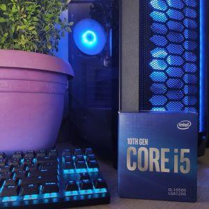 [ΜΕ ΕΓΓΥΗΣΗ] Intel Core i5-10500 με ενσωματωμένα γραφικά + Intel Cooler