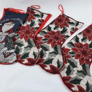 χριστουγεννιατικες κάλτσες διακοσμητικες