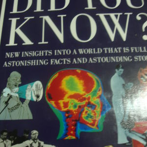 READER'S DIGEST.DID YOU KNOW.