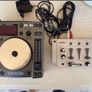 Denon DN-S1000 DJ CD Player + Κονσόλα
