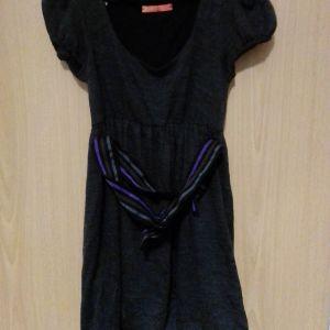 Φόρεμα BSB collection ολοκαίνουργιο με κοντά μανίκια μπαλου με ζωνακι