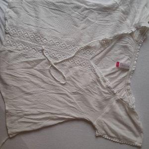 Boho μπλουζάκι με κεντήματα
