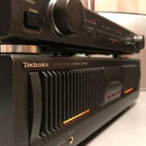 Τελικός και Προενισχυτής Technics A 800 s Reference και su c800u Reference