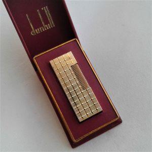 Αναπτήρας Dunhill Χρυσός Made in Switzerland