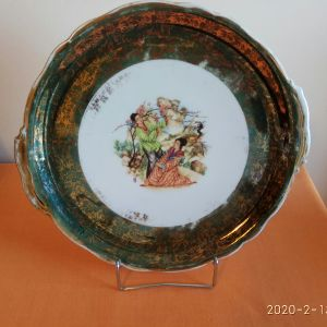 Πιάτο πορσελάνης Zeh Scherzer, BAVARIA GERMANY Elite, διαμέτρου 30 εκατοστών.