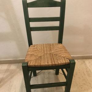 χειροποίητες καρέκλες  καινούργιες
