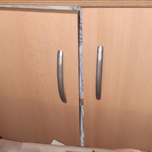 ραφιερα γραφειου-αποθηκευτικος χωρος με 2 ραφια και 2 πορτες