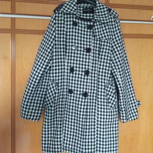 Παλτό Καρό με Κουμπιά