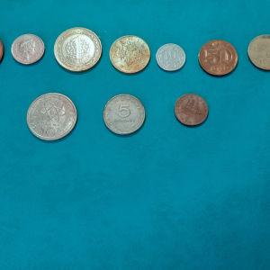 Νομίσματα Ξενα και Ελληνικά