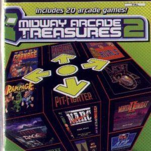 MIDWAY ARCADE TREASURES 2 - PS2