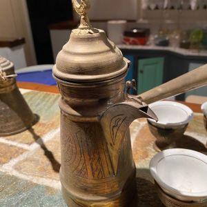 Σετ ελληνικού καφέ ΔΑΜΑΣΚΟΥ