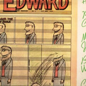 EDUARD -  SEE INSIDE ''JAMMING WITH EDWARD!''  BY NICKY HOPKINS, RY COODER, MICK JAGGER, BILL WYMAN, CHARLIE WATTS. 1972