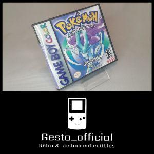 Pokemon Crystal Gameboy Color custom case