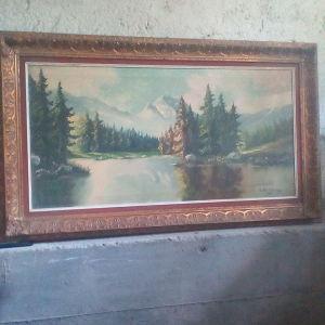 Πίνακας ζωγραφικής λάδι σε καμβά Μεϊντάνης