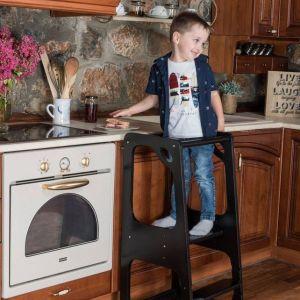 ΠΑΙΔΙΚΑ ΕΠΙΠΛΑ ΒΟΗΘΗΤΙΚΑ Πυργος Εκμαθησης - Learning Tower - Kitchen Helper non convertible 3/8 ΣΧΕΔΙΑ