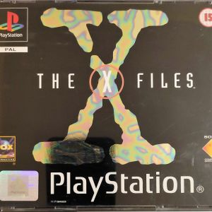 Sony Playstation - The X files (4 cd)