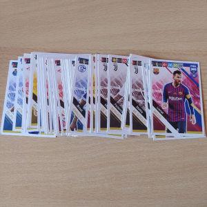 58 κάρτες ποδοσφαίρου panini fifa365 2019
