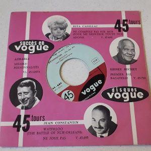 Vinyl record 45 - Jack Ary Et Son High Society Cha Cha