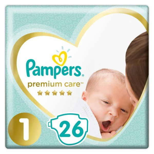 panes morou Pampers premium care gia mora 4-8 kg. periechi 46 temachia