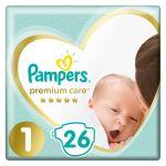 Πάνες μωρού Pampers premium care για μωρά 4-8 kg. Περιέχει 46 τεμάχια