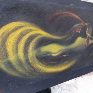 Πίνακας ζωγραφικής λαδομπογιά σε καμβά