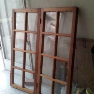 Ξύλινα παράθυρα