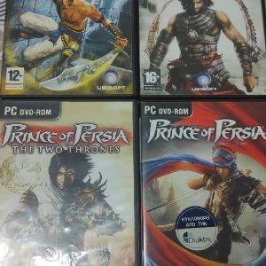 PC Prince of Persia Τριλογία + Prince of Persia 4
