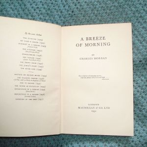 A Breeze of Morning, by Charles Morgan