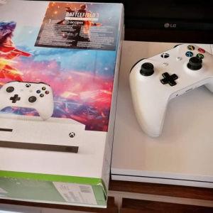 Xbox one s +Battlefield v,1
