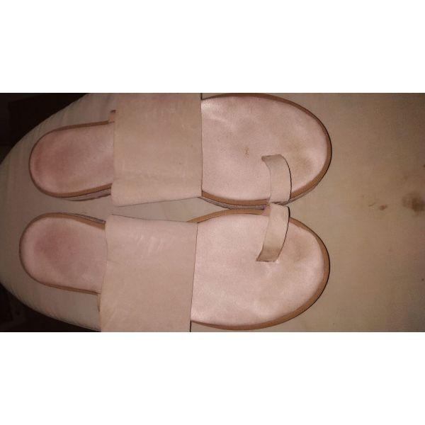 dermatina sandalia 40