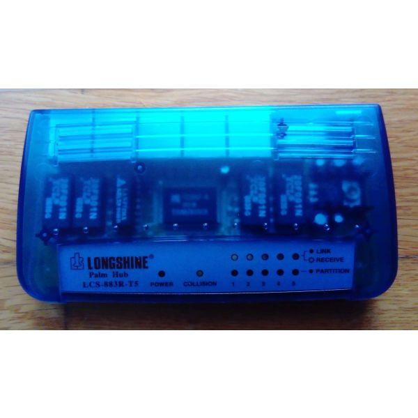Longshine Ethernet 5-port Palm Hub