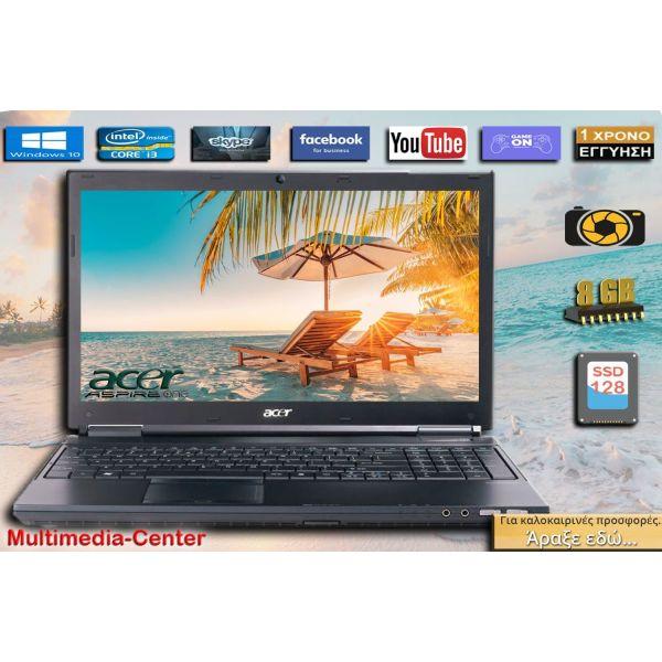 ACER 6594 I3-M380 / 8GB RAM / 128 SSD / CAMERA / othoni 15,6