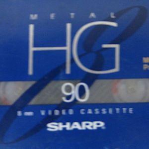 SHARP VIDEO TAPE P5-90HG 8mm