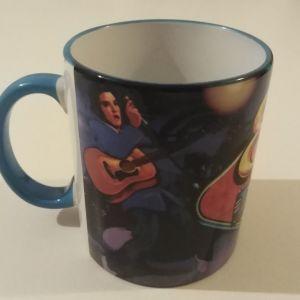 Vintage Elvis Presley Mug Κουπα Καφε