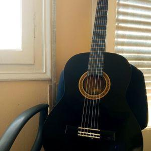 Κλασσική κιθάρα Valencia μαύρου χρώματος