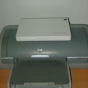 Lenovo laptop & HP photo printer