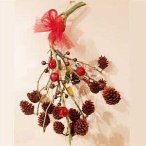 Kρεμαστό χριστουγεννιάτικο στολίδι με φωτισμό (μπαταρία)