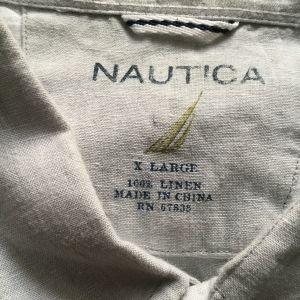 NAUTIKA λινο πουκαμισο XL