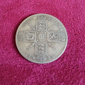 1922 George V British Florin!!!Ασημένιο νόμισμα!!!!
