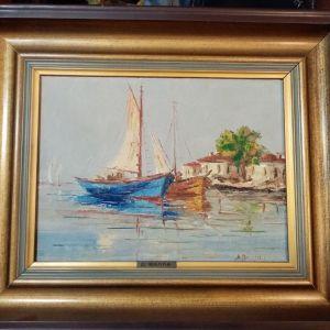 Πίνακας Δ. Βάλλα, καΐκια